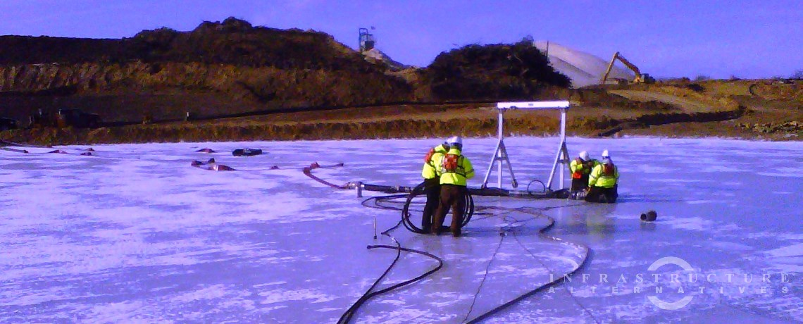 Silica Sand Pumping & Dewatering Project, Woodbury, Minnesota